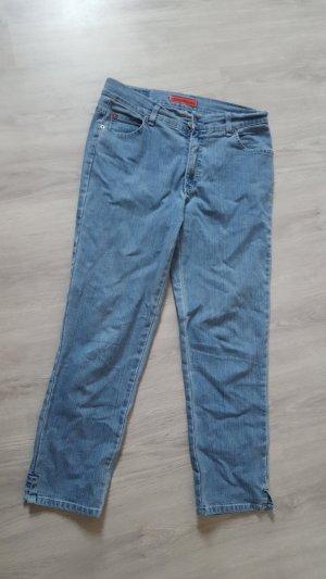 Angels Boyfriend jeans azuur Katoen