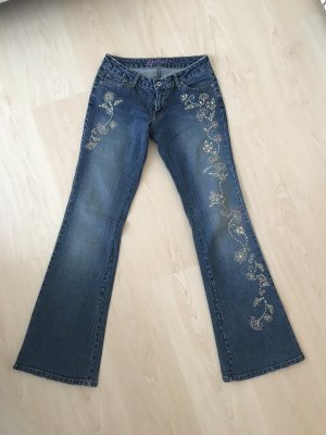 Angels Jeans mit Strass-Applikation