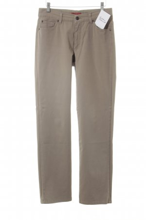 Angels Pantalone a sigaretta color cammello stile casual