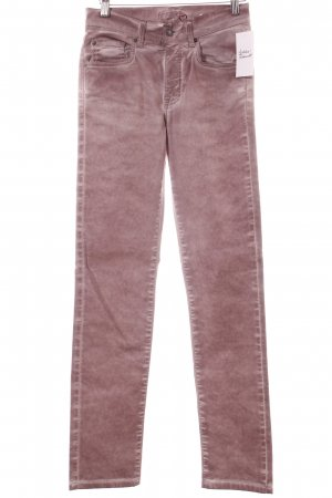 Angels Tube Jeans dusky pink casual look