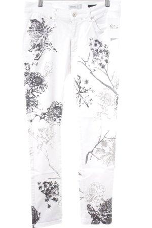 Angels Skinny Jeans Blumenmuster Casual-Look