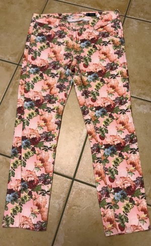Angels Skinny Jeans Flower Power