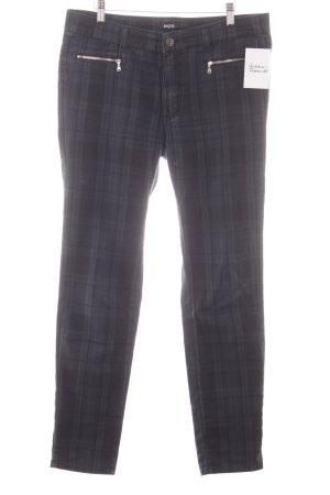 Angels Jeans slim fit nero-petrolio motivo a quadri stile casual