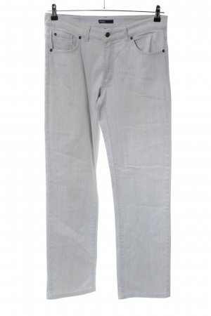 Angels Straight Leg Jeans light grey flecked casual look