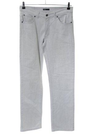 Angels Jeans a gamba dritta grigio chiaro puntinato stile casual