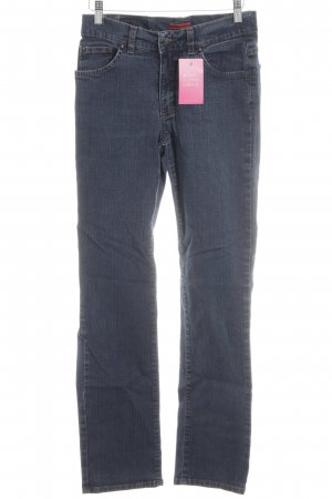 Angels Straight Leg Jeans blue-silver-colored jeans look