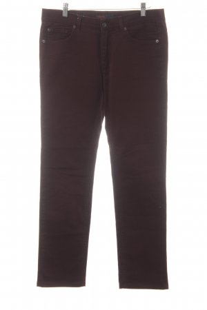 Angels Jeans a gamba dritta bordeaux stile casual