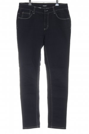 Angels Straight Leg Jeans dark blue casual look