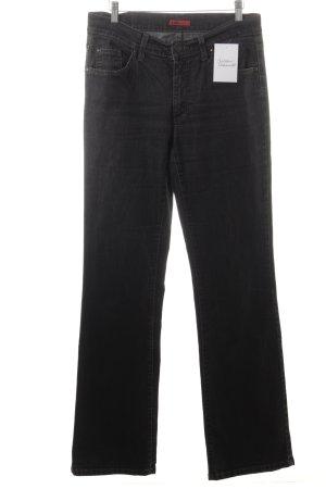 Angels Straight-Leg Jeans dunkelgrau klassischer Stil