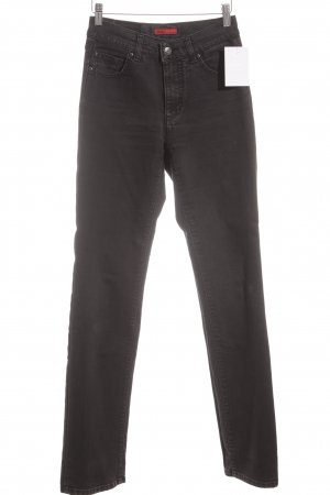 Angels Straight Leg Jeans dark grey-black casual look