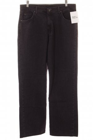 Angels Straight-Leg Jeans dunkelviolett schlichter Stil