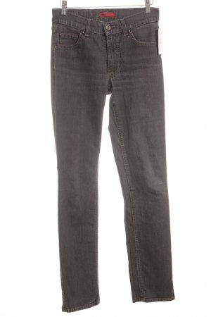 Angels Straight-Leg Jeans grau Casual-Look