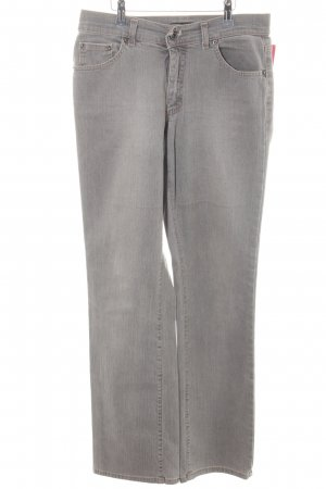 Angels Straight Leg Jeans grey-gold-colored vintage look