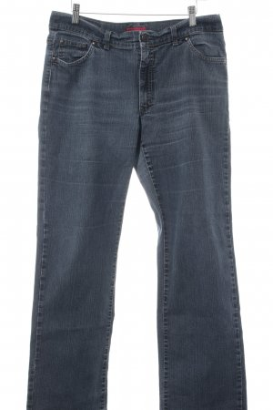 Angels Straight Leg Jeans grey flecked washed look