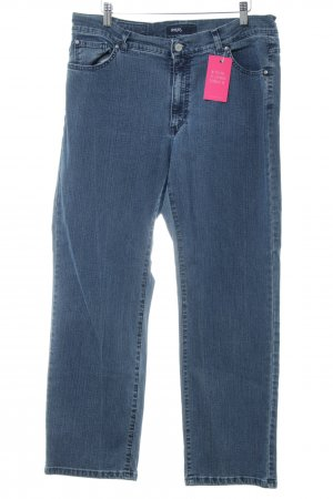 Angels Straight-Leg Jeans graublau Jeans-Optik