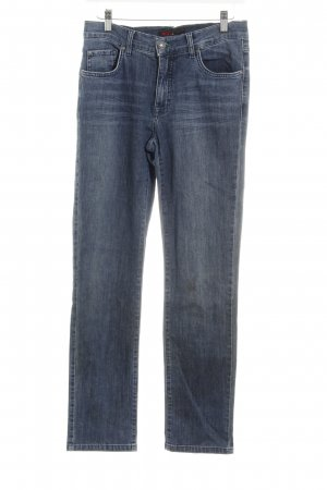 Angels Straight-Leg Jeans graublau Washed-Optik
