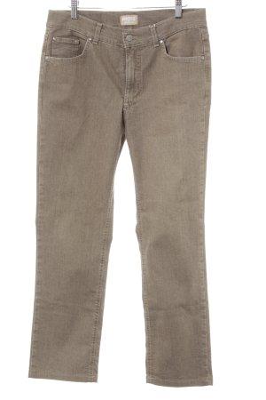 Angels Jeans coupe-droite marron clair style décontracté