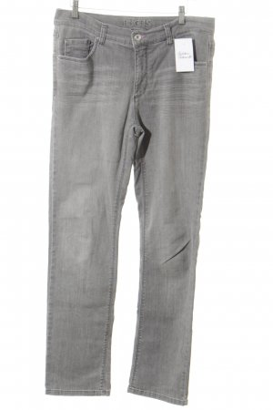 Angels Straight Leg Jeans light grey
