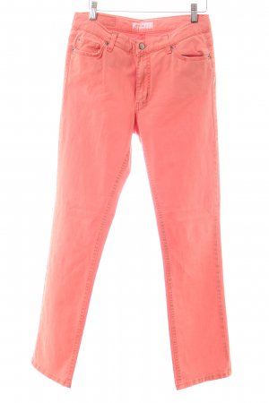 Angels Jeans a gamba dritta salmone stile casual