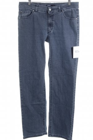 Angels Straight-Leg Jeans stahlblau meliert Casual-Look