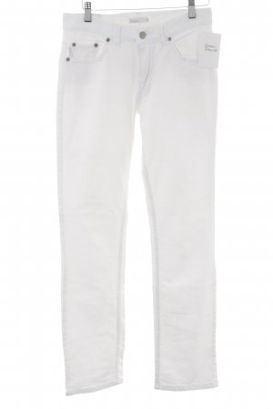 Angels Jeans a gamba dritta bianco sporco stile semplice