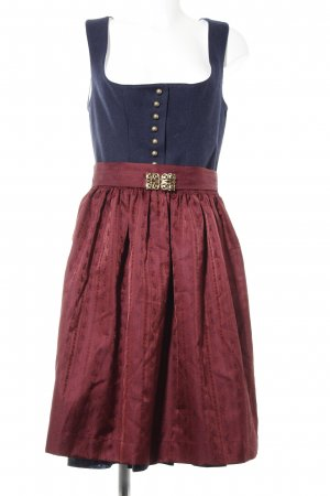 Angermaier Dirndl abstraktes Muster Country-Look