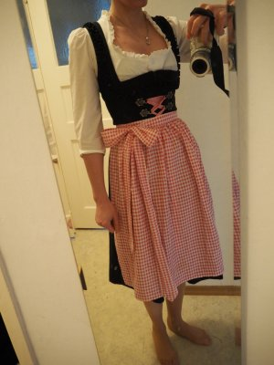 Angermaier Dirndl multicolore Cotone