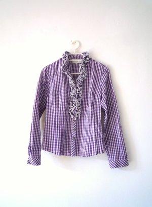 Angermaier Folkloristische blouse veelkleurig Katoen