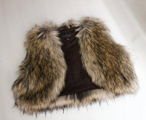 Angesagte Fake fur Fell Luxus / Kurzfellweste von moore and moore Neu