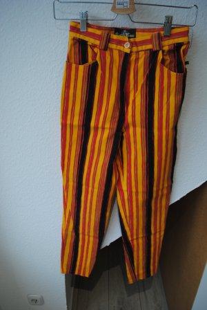 Uncle Sam Pantalon cigarette multicolore