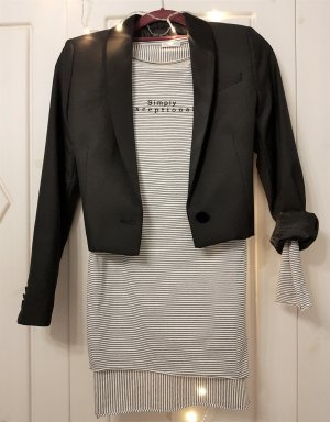 Mango Short Blazer black