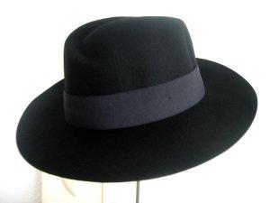 Cappello di lana nero Lana