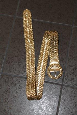 Angesagter Gürtel, ca. 105cm lang, gold