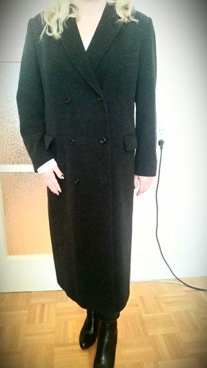 Angesagter Langer Mantel im dunklen Anthrazit,oversized,wie neu!
