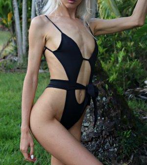 Monokini noir