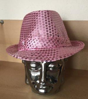 Panama Hat pink-light pink cotton