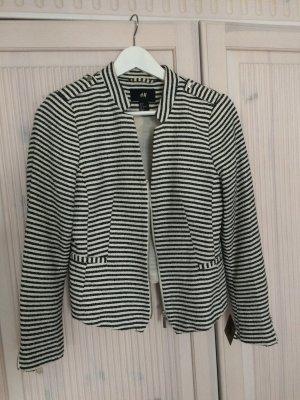 Angesagter schwarz weißer Streifenblaser von H&M