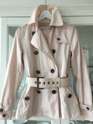 Angesagter Trenchcoat in Rosa