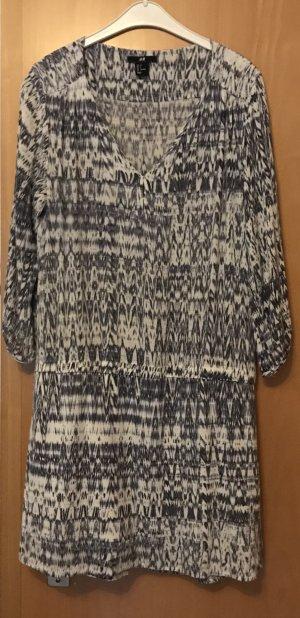 H&M Vestido tipo túnica multicolor Algodón