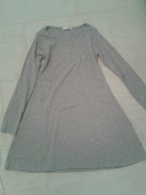 Sweaterjurk lichtgrijs Katoen