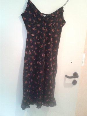 angesagtes süßes romantischen Rüschen Kleidchen Kleid Boho floral Blümchen fit and flare Boho