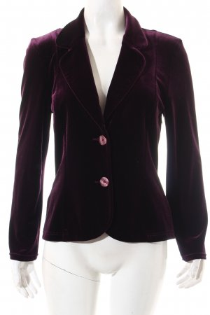 Angie Blazer dark violet wet-look