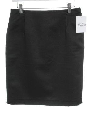 Angie Falda de tubo negro estilo «business»