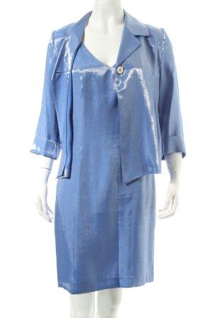 Angie Kostüm blau Schimmer-Optik