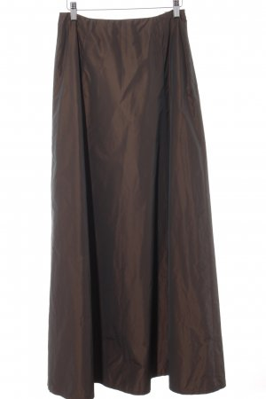 Angie Maxi rok donkerbruin-bruin extravagante stijl