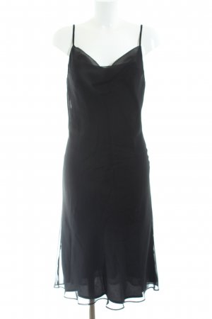 Angie Pinafore dress black casual look
