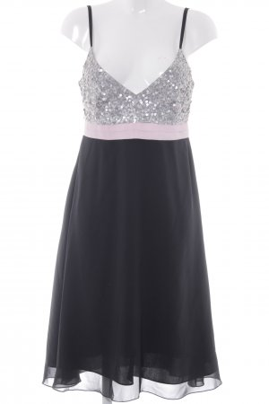 Angie Pinafore dress black-pink party style