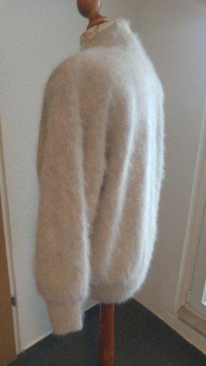 Pelliza blanco puro lana de angora