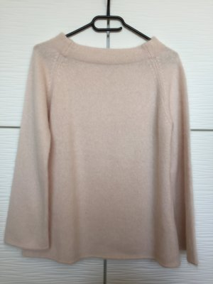 Benetton Wool Sweater pink-dusky pink angora wool