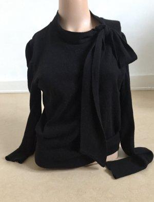 Pull en cashemire noir laine angora
